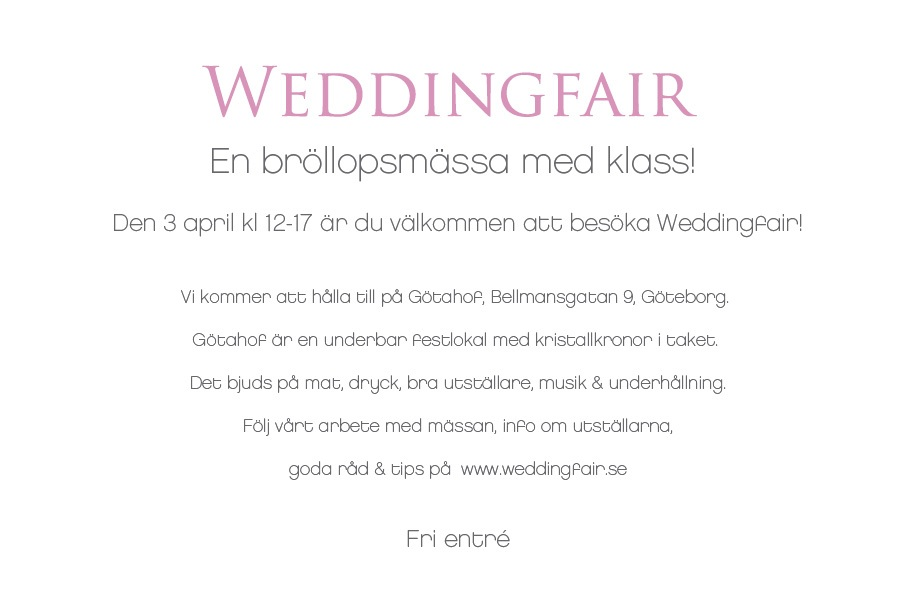 bloggwedding