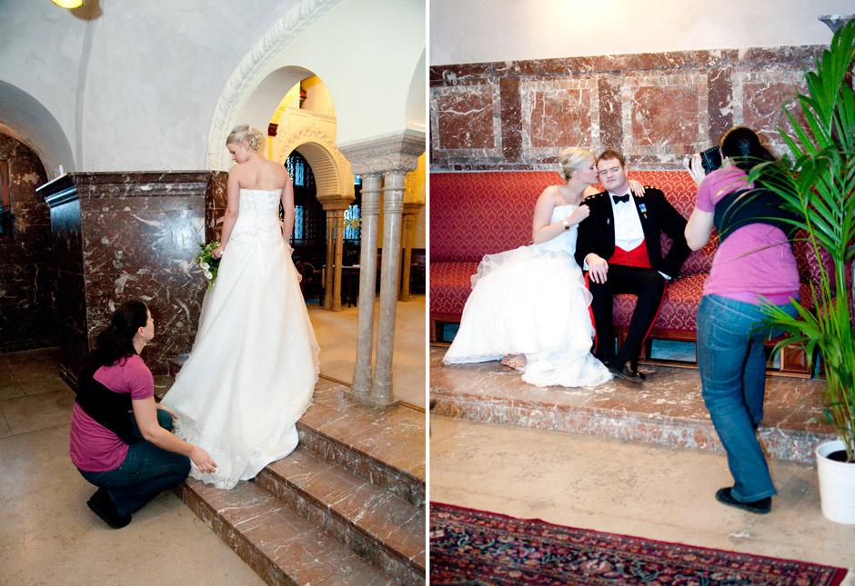 BTS Antonia och Anthonys bröllop på Tjolöholms slott