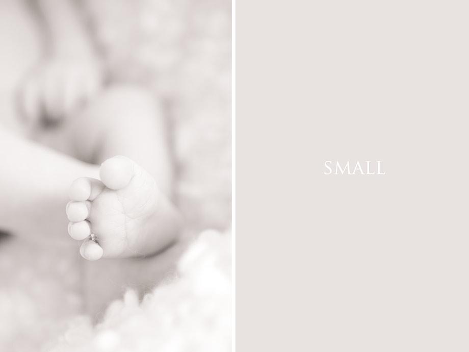 Först ut babyfotografering hemma!