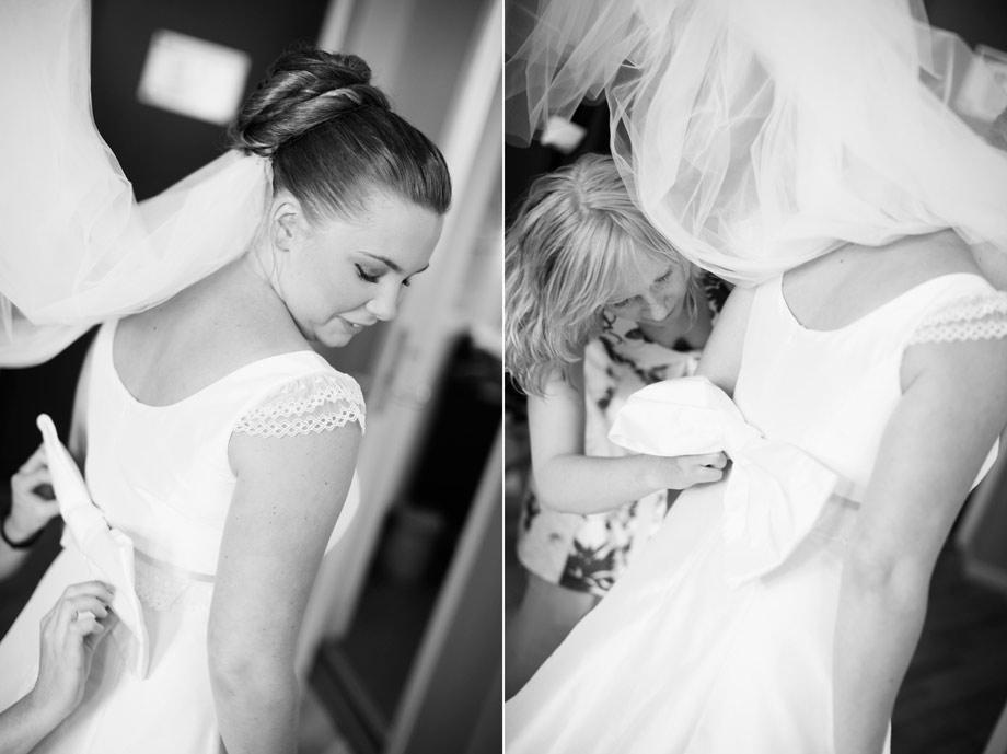 Märta och Alex bröllop Slädene kyrka - Lidköping