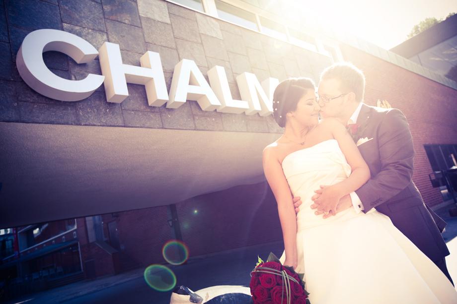 Bröllop på Chalmers