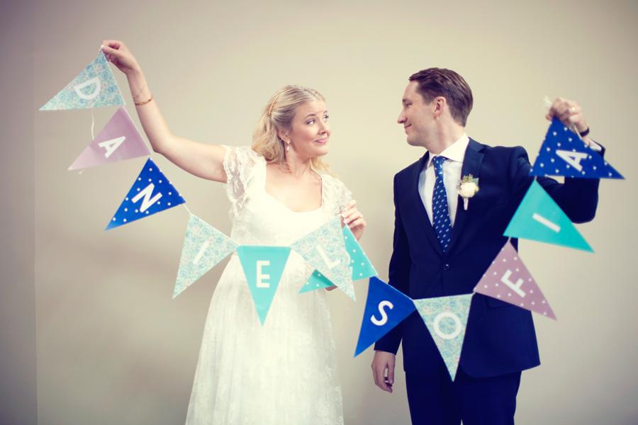 Sofia o Daniels bröllop