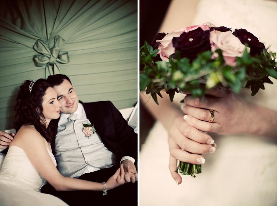 en liten Sneak peek på deras bröllop
