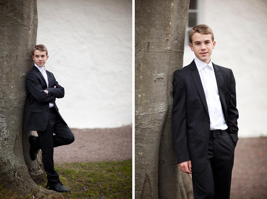 Erik - konfirmationsfotografering