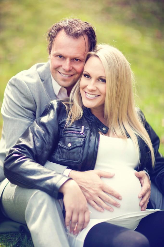 Rebecca - gravidfotografering en dag innan födsel!!!