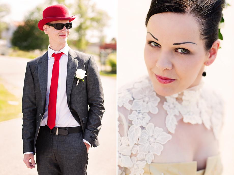 Smygtitt på Maria & Jonas apcoola bröllop!!!