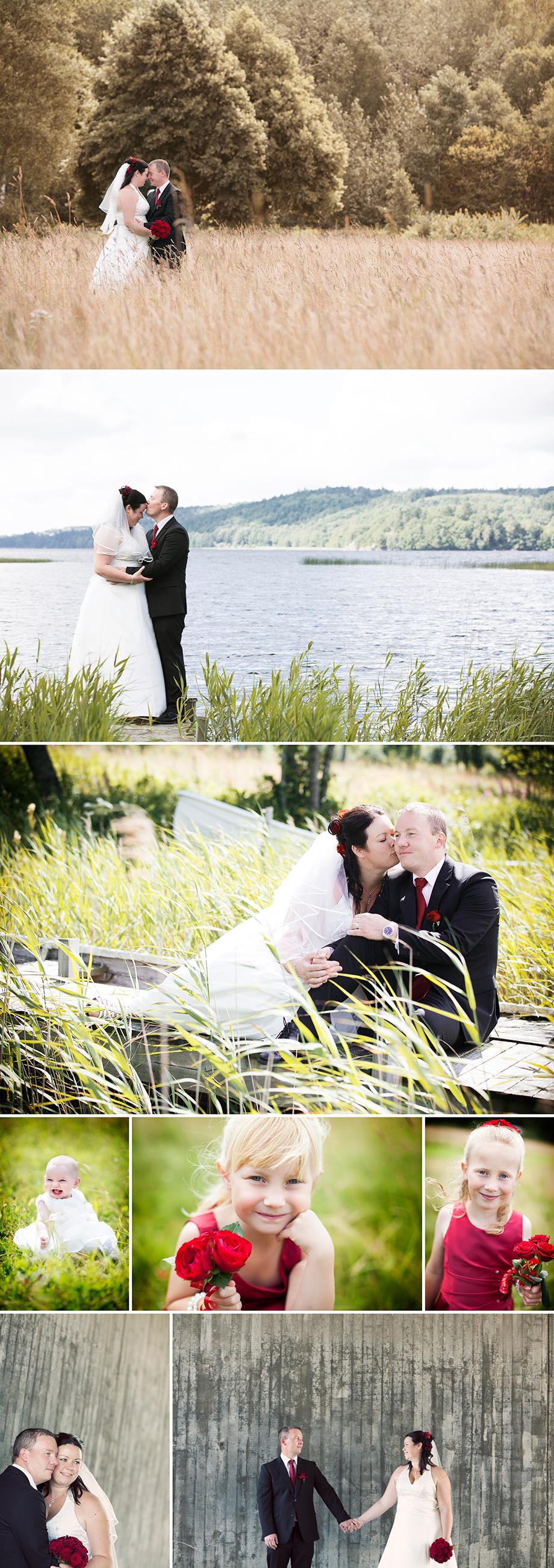 bröllopsporträtt med Susanne och Johnny