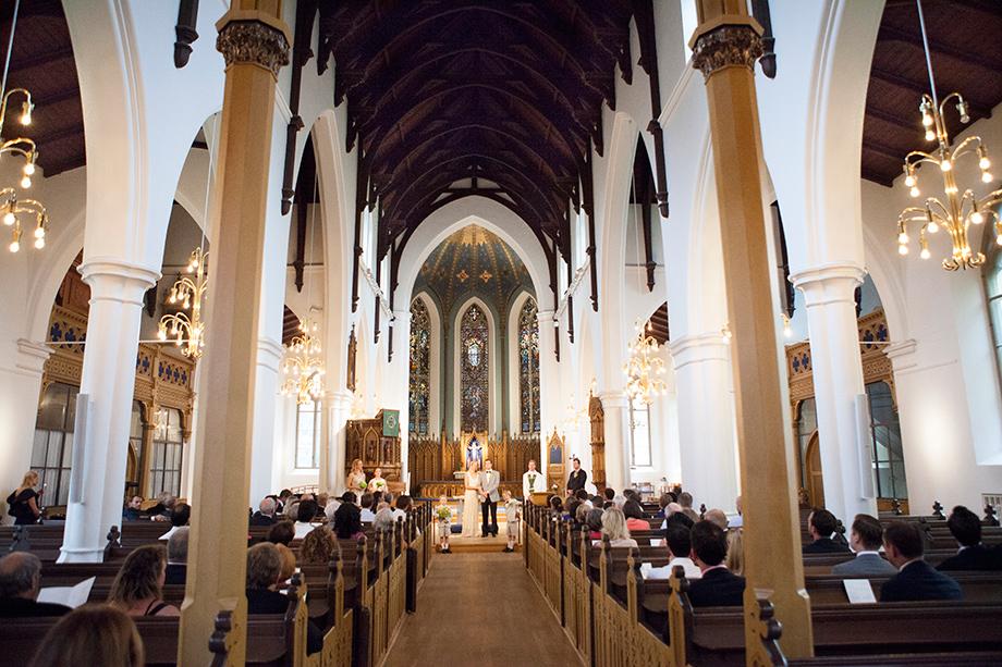 Bröllop i Hagakyrkan
