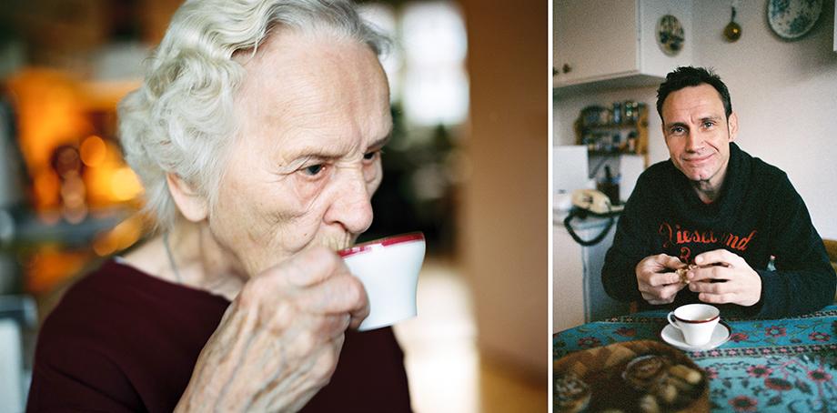 Bilder på våra äldre