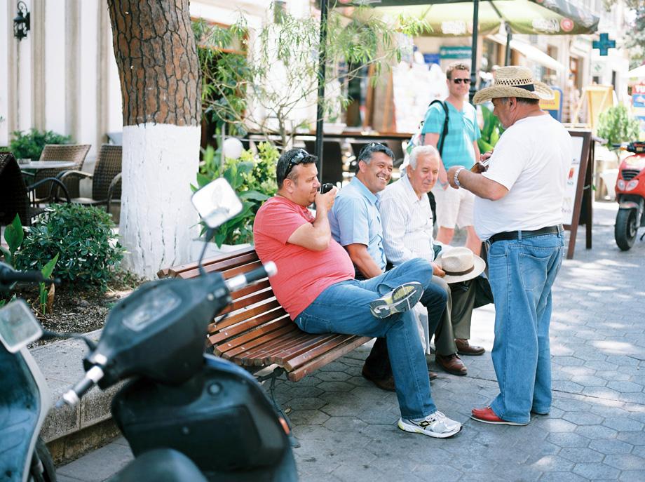 Kos runt på scooter - Grekland