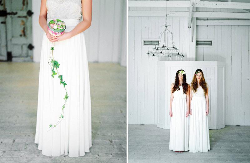 Bröllopsinspiration kläder & blommor