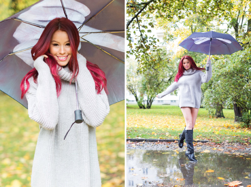 Lina och hennes spydiga paraply